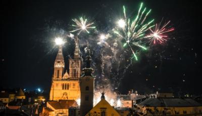 クロアチアの主要都市の2020年の幕開け!