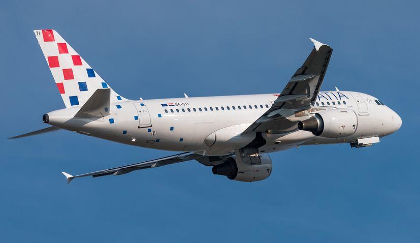 クロアチア航空がソフィアとポドゴリツァへの新航路を開始