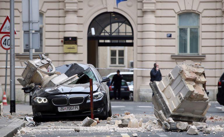 ザグレブ地震
