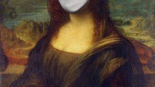 モナリザ マスク